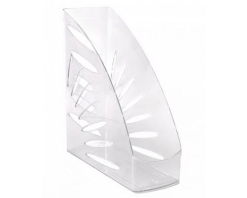 Лоток для бумаг вертикальный Тропик прозрачный