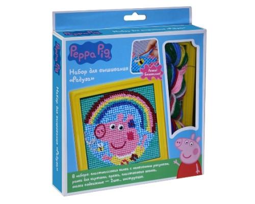 Набор для вышивания Радуга, Peppa Pig