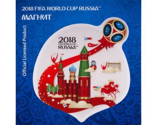 Магнит FIFA 2018 картон.Летящий мяч !АКЦИЯ! /БЕЗ СКИДКИ/