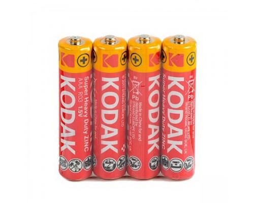 Батарейка Kodak R03 б/б
