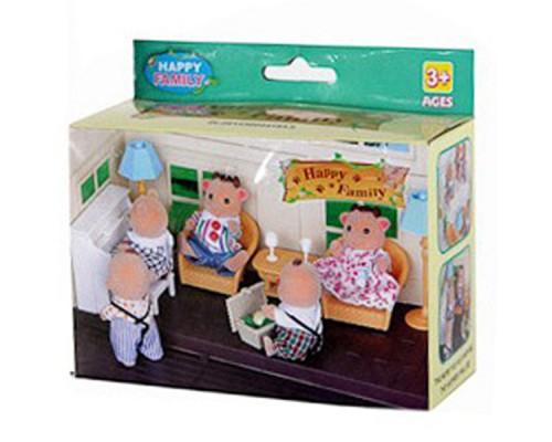 Игровой набор Happy Family, 13,7*5,5*94 см, 012-09B