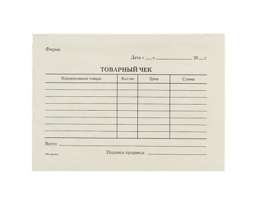 Бланк Товарный чек А6 (100 листов)